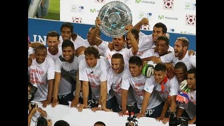 César Vallejo recibe agasajo en Trujillo tras ganar Torneo del Inca