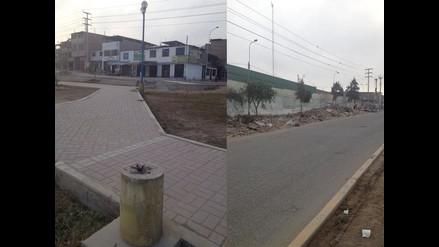 WhatsApp: Avenida de Villa el Salvador en total abandono