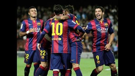 Barcelona humilló 6-0 al Getafe y se consolida en la punta de la Liga