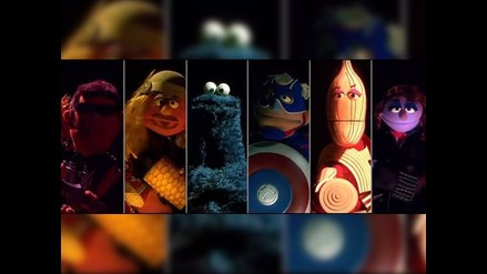 YouTube: Plaza Sésamo parodia tráiler de Avengers: Age of Ultron