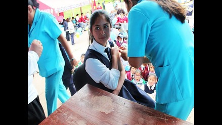 Cusco: inician Semana de Vacunación de las Américas en niños
