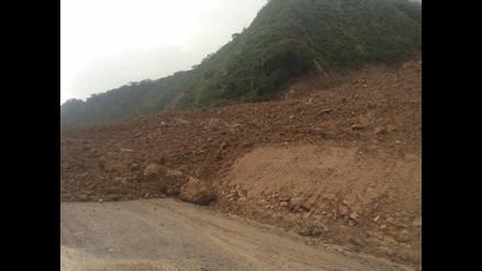 Amazonas: carretera Fernando Belaunde Terry quedó interrumpida