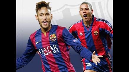 Barcelona: Neymar igualó marca de goles de su compatriota Ronaldo