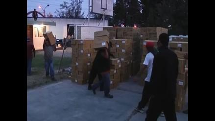 Arequipa: incautan mercadería ilegal valorizado en 480 mil dólares