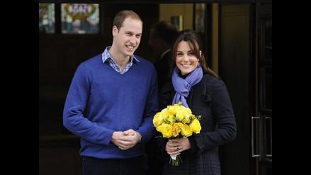 Kate Middleton y el príncipe Guillermo celebran su cuarto aniversario