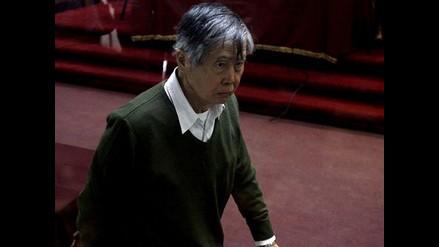 Alberto Fujimori pide al jefe del INPE dejar ingresar a la prensa a penal
