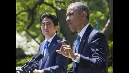Barack Obama y Shinzo Abe niegan que alianza amenace a China