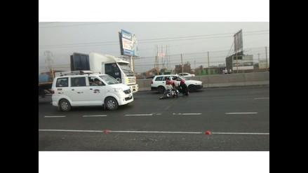 WhatsApp: Motociclistas se salvan de morir