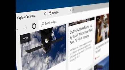 Microsoft Edge, el nombre oficial del nuevo navegador de Microsoft