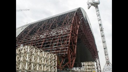 Nueva coraza para proteger Chernobyl se terminará de construir en 2017