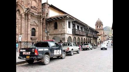 Intervienen a sujeto que hurtaba accesorios vehiculares en Cusco