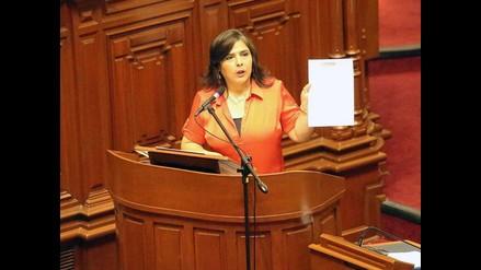 Ana Jara pide que se aclare quiénes estuvieron detrás de búsquedas de la Dini