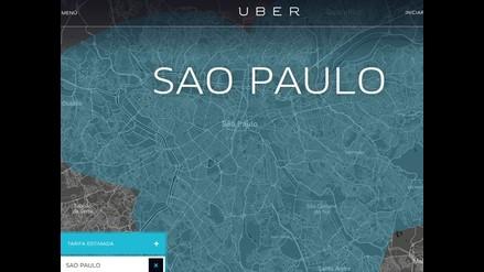 La aplicación Uber fue prohibida en Brasil