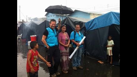 Unicef recorrió Iquitos para ayudar a damnificados tras inundaciones