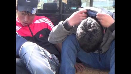 Huancayo: vecinos atrapan a delincuentes e intentan lincharlos