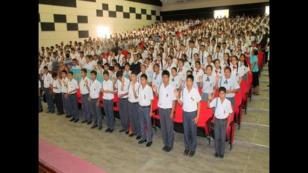Lambayeque: juramentan a 800 fiscales escolares