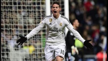 Real Madrid: James Rodríguez y sus mejores goles con el equipo blanco