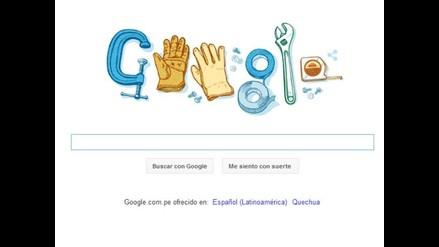 Google dedica doodle por el Día del Trabajador