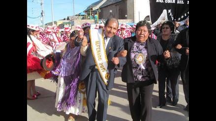 Puno: a ritmo de sikuris inició fiesta de las cruces en Huancané