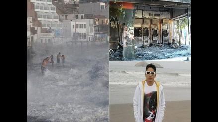 Resumen: Oleajes anómalos provocan el cierre de puertos a nivel nacional, violencia en México deja varios muertos y abogado de Gerald Oropeza no sabe si su defendido está en el Perú