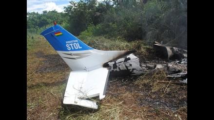 Ayacucho: Hallan avioneta boliviana destruida en Huanta