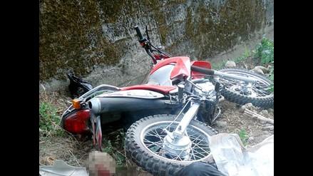 Un muerto deja despiste de motocicleta en Andahuaylas