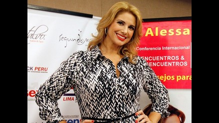 Alessandra Rampolla competirá con Gisela Valcárcel