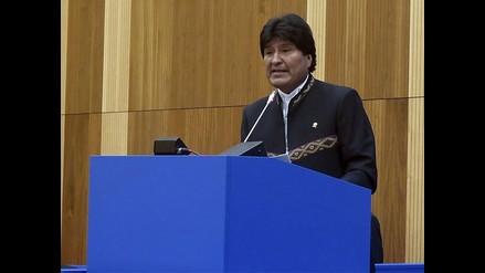 Morales: Chile sigue con Constitución que dejó la dictadura de Pinochet