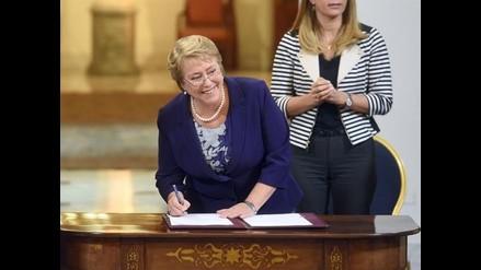 Bachelet pide a chilenos a mantener la calma por alegatos en La Haya