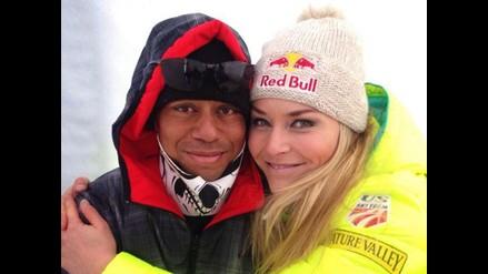 Facebook: Lindsey Von anunció el fin de su relación con Tiger Woods