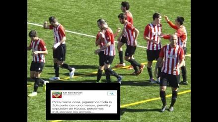 Fútbol Español: Equipo desorienta a rival con mensaje falso en Twitter