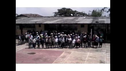 WhatsApp: realizan paro indefinido por falta de docentes en colegio de Cajamarca