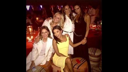 ¡Eva Longoria es la nueva Spice Girls!