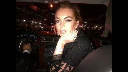 Lindsay Lohan rompe a llorar tras discutir con su novio en plena calle