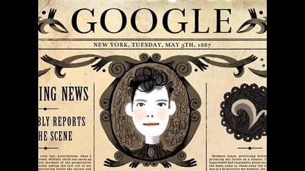 YouTube: Google dedica doodle a Nellie Bly