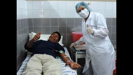 Recolectan 50 unidades durante donación de sangre en Cusco