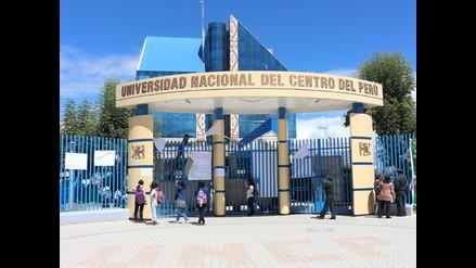 Huancayo: denuncian que toma de local de la UNCP tiene trasfondo político