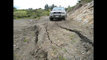 Áncash: Defensa Civil se traslada a Socosbamba para evaluar daños