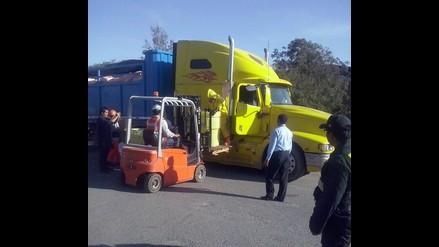 Arequipa: intervienen camión que transportaba mercurio ilegal