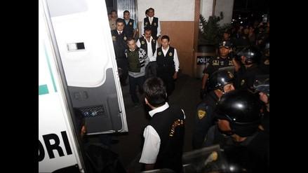 Caso Orellana: detenidos fueron puestos a disposición del PJ