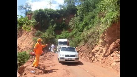 Chanchamayo: se reanuda tránsito vehicular a la selva central
