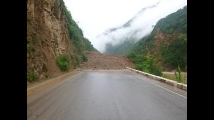 Cajamarca: deslizamiento aisló a la provincia de Santa Cruz
