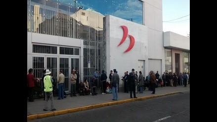 Arequipa: exfonavistas desilusionados al cobrar 245 soles