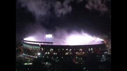 River Plate vs. Boca Juniors: El impresionante recibimiento del Súper Clásico