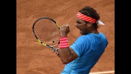 Masters 1000 de Madrid: Rafael Nadal y un impresionante punto