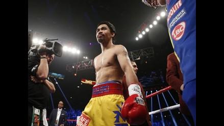 Manny Pacquiao y su lesión en el manguito rotador del hombro