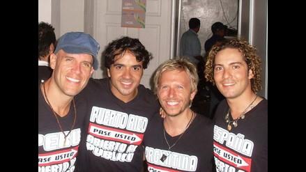 Gian Marco une su voz a Noel, David Bisbal y Luis Fonsi