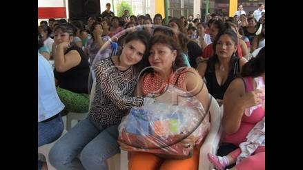 Chiclayo: Katiuskha y su mamá celebraron el Día de la Madre en penal