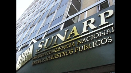 Sunarp sobre caso Orellana: