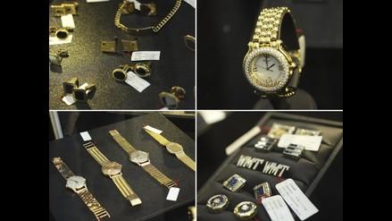 Reloj de oro blanco y 600 diamantes de Vladimiro Montesinos será subastado